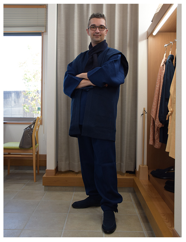 using traditional fabrics from all over Japan